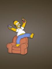 Homer Simpson para Nokia C2-02