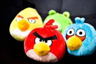 Plush Angry Birds para Samsung 222 Ch@t