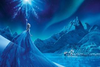 Frozen Elsa Snow Queen Palace para Motorola RAZR XT910