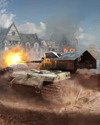 World of tanks, Waffentrager auf E 100 para Huawei U7520