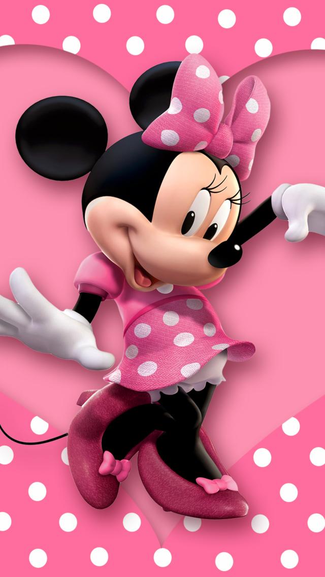 Minnie Mouse Polka Dot Fondos De Pantalla Gratis Para