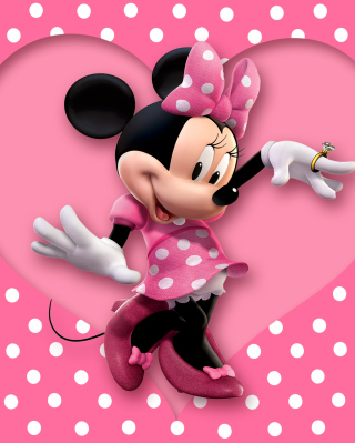Minnie Mouse Polka Dot para Huawei G7300