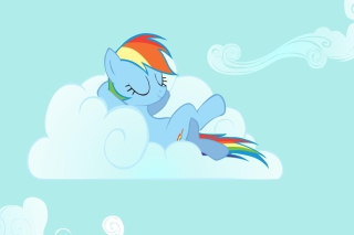 My Little Pony Friendship is Magic on Cloud for Sony Ericsson XPERIA X8