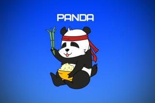 Cool Panda Illustration
