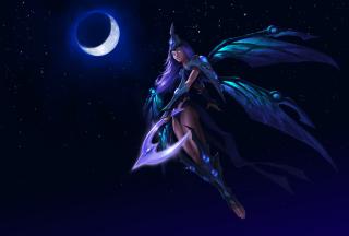 Anime Fairy Moon Queen
