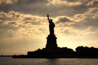 Statue Of Liberty In United States Of America