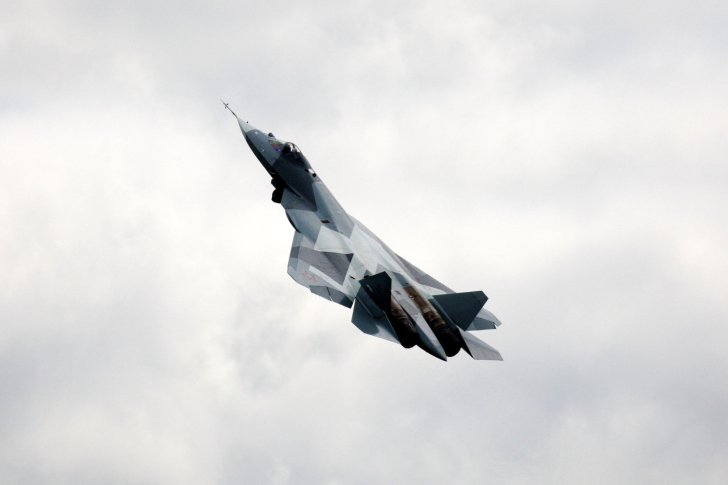 Amazing Russian Fighter Jet wallpaper