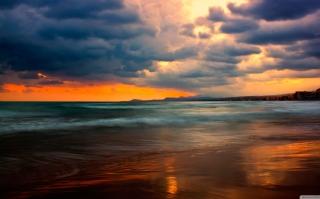 Stormy Sunset para Nokia Asha 201