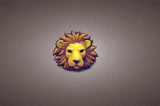 Lion Muzzle Illustration