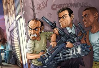 Grand Theft Auto V Gangsters para Motorola Photon 4G