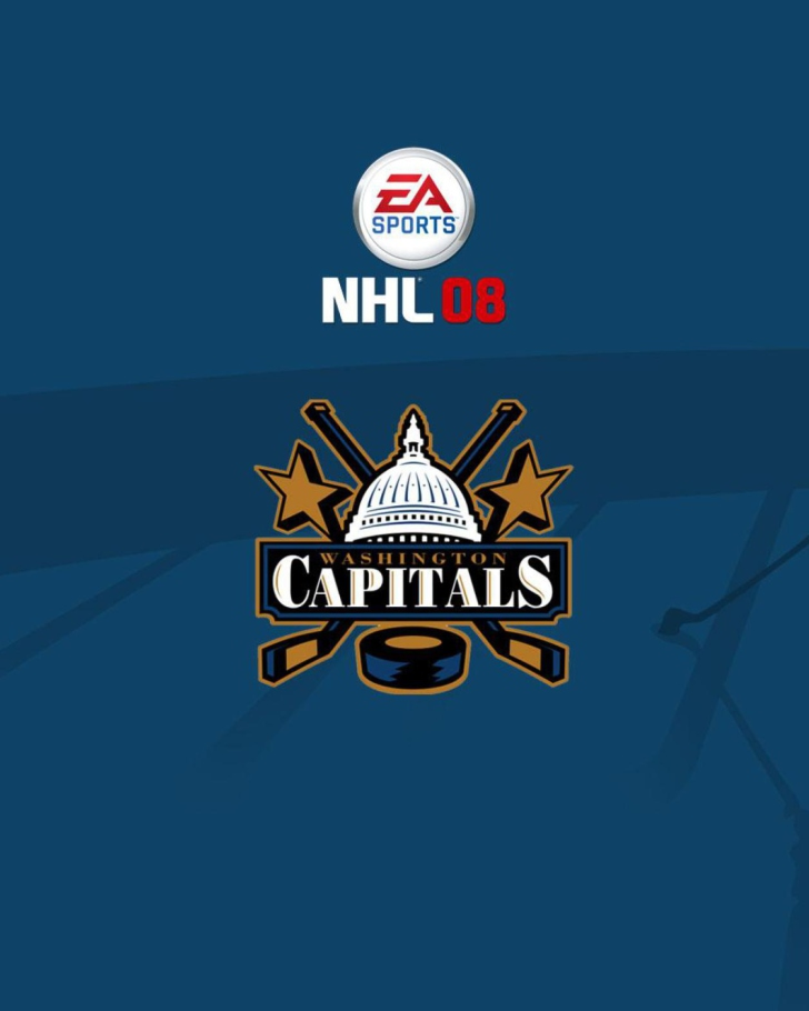 Nhl 08 - Washington Capitals Mobile Picture for 480x800