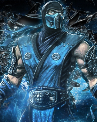 Mortal kombat, Sub zero para Blackberry RIM Torch 9800