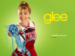 Heather Morris Glee Brittany