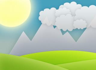 Minimal Clouds para 220x176