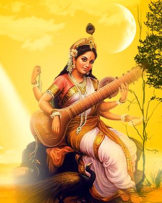 Saraswathi God for Nokia N8