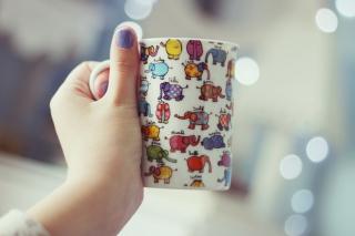 Funny Mug With Elephants