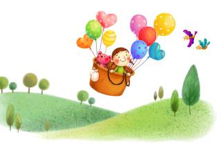 Colorful Balloons Sky Trip para Motorola RAZR XT910