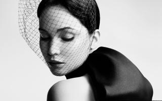 Jennifer Lawrence 2013 Black And White