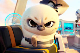 Penguins Of Madagascar Angry Seal