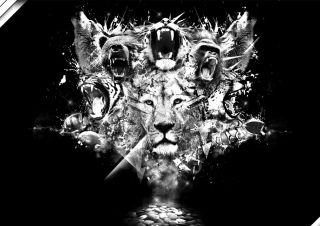 King Of Animals para Nokia Asha 201