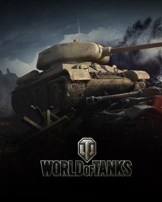 World of tanks T34 85 per Nokia Asha 306