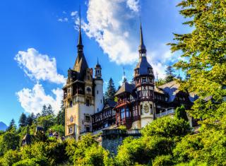 Peles Castle In Romania para Widescreen Desktop PC 1920x1080 Full HD