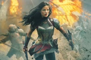 Jaimie Alexander In Thor 2
