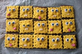 Spongebop Squarepants Cookies