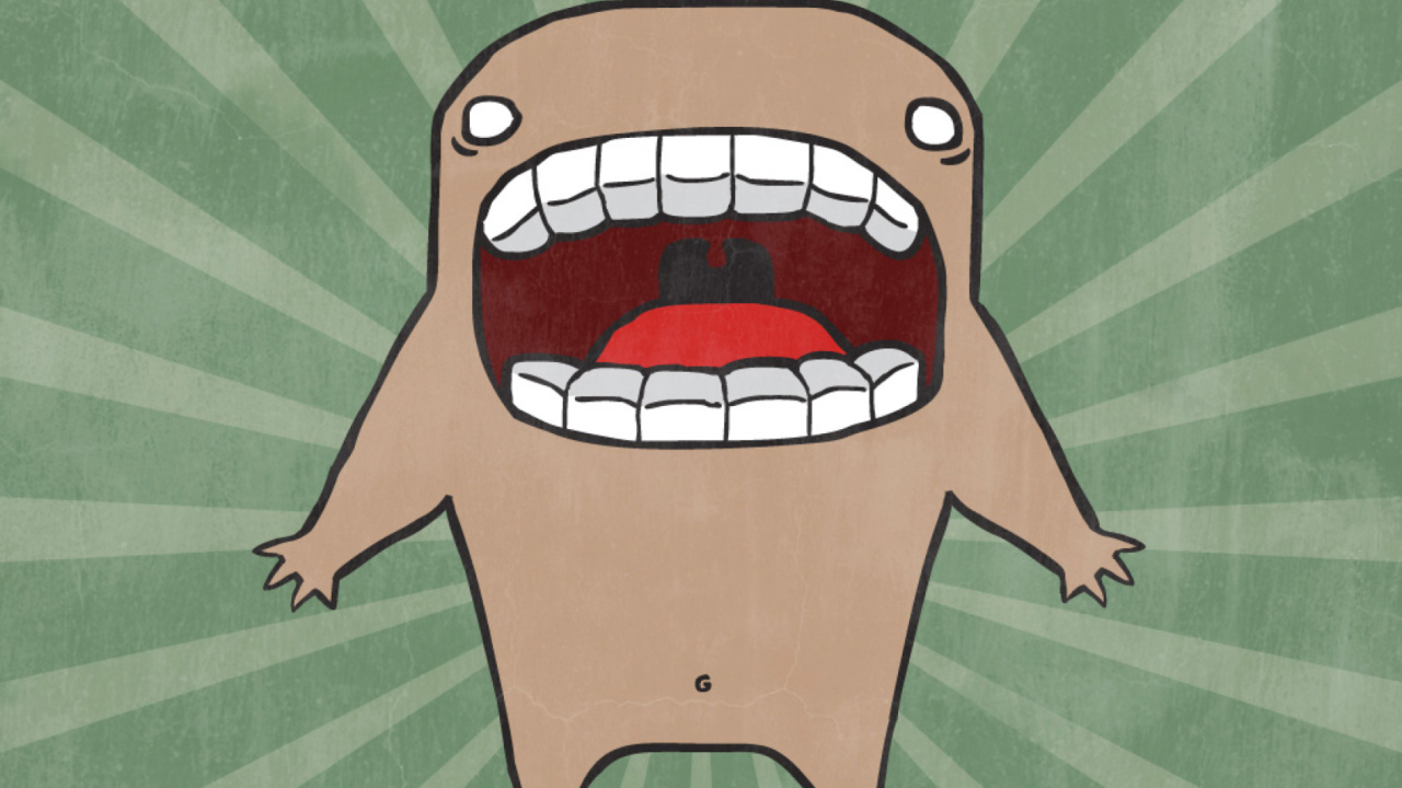Screaming Monster screenshot #1