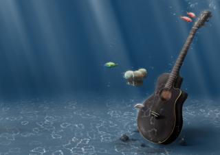 Underwater Guitar para Blackberry RIM PlayBook LTE
