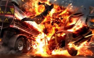 Car Crash Explosion para Motorola Photon 4G