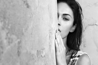 Megan Fox Black & White