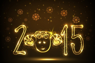 Golden Lights Happy New Year 2015
