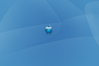 Apple Blue Logo