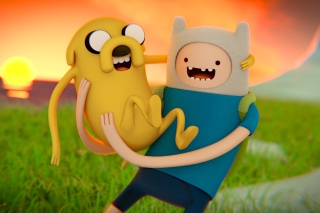 Adventure Time - Finn And Jake para Motorola RAZR XT910