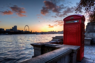 England Phone Booth in London