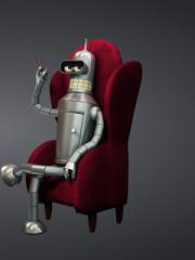 3D Bender Futurama para Nokia C2-02