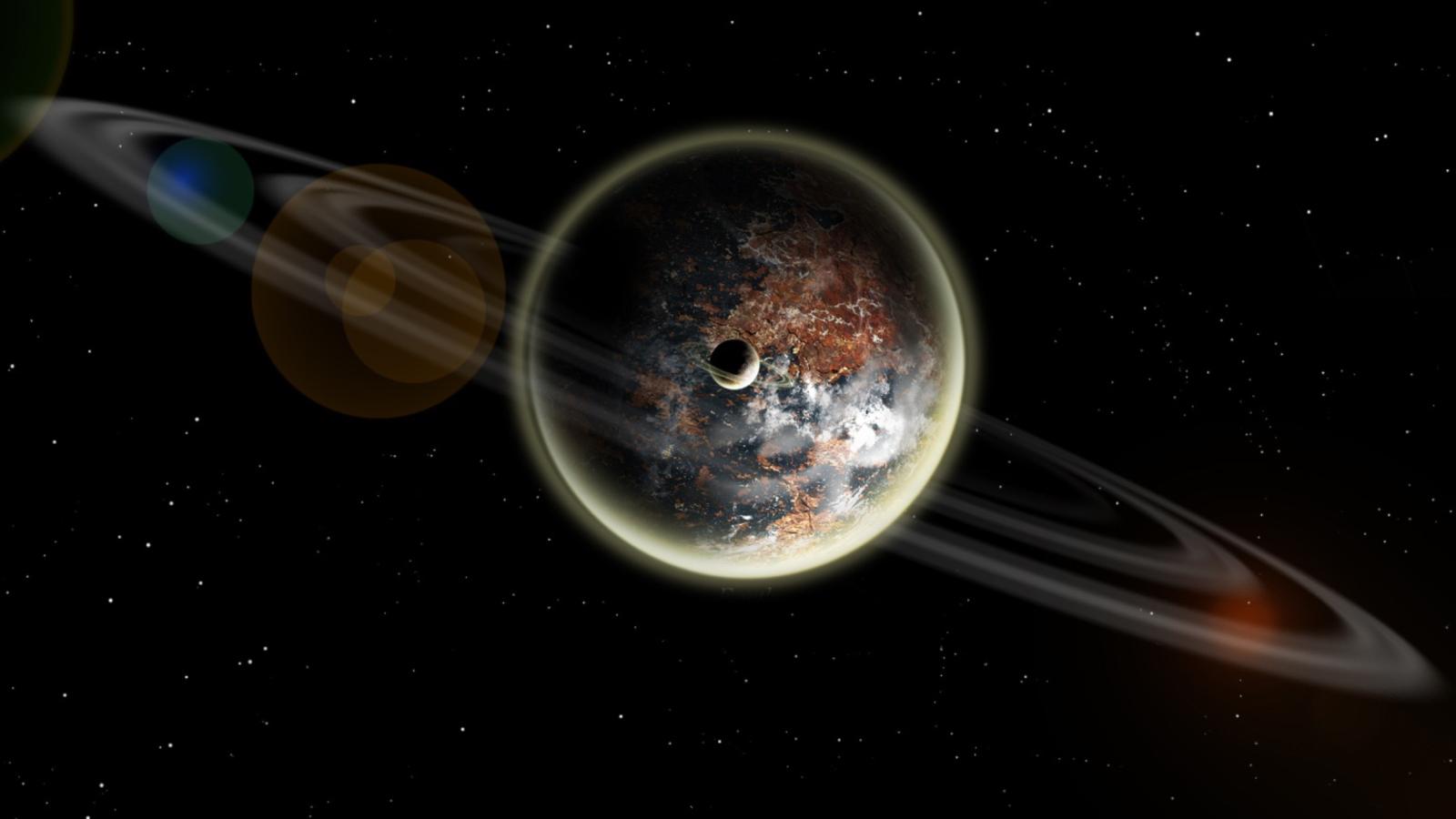 Distant Planet Like Earth on Planet Kepler 186f