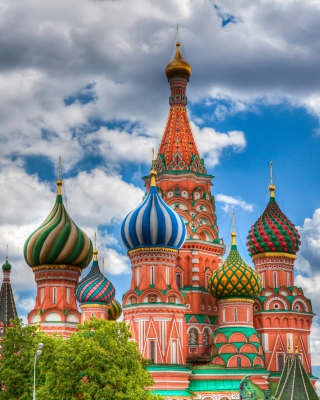 Saint Basil's Cathedral - Red Square for Nokia Asha 303