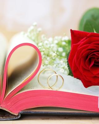Wedding rings and book para Huawei G7300