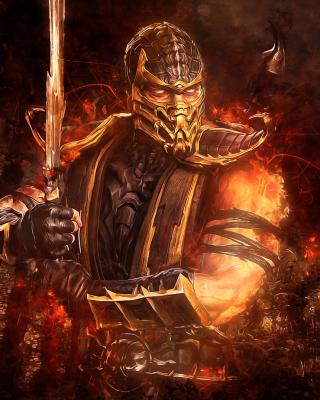 Scorpion in Mortal Kombat para Huawei U7520