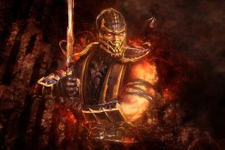Scorpion in Mortal Kombat para Samsung 222 Ch@t