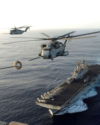 Aircraft Carrier And Helicopter para LG BL40 New Chocolate