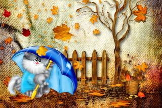 Autumn Cat para 220x176