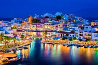 Crete - Agios Nikolaos para Widescreen Desktop PC 1920x1080 Full HD