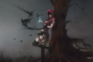 Dragon Age Morrigan Artwork