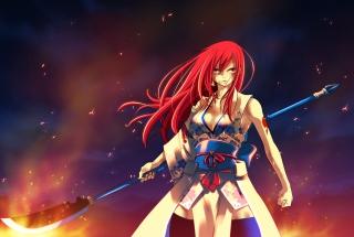 Fairy Tail - Erza Scarlet para Nokia X2-01