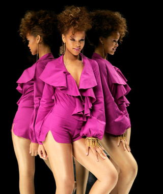 Rihanna para LG BL40 New Chocolate