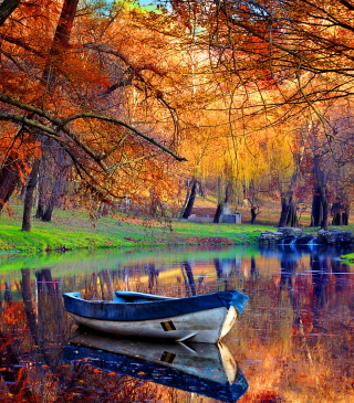 September Autumn River para Huawei G7300