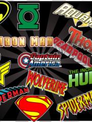 Superhero Logos for Nokia Asha 303